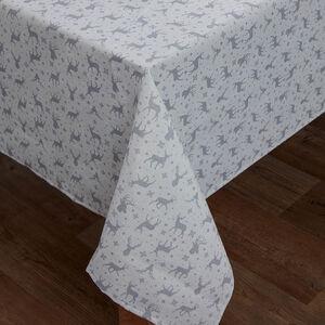 Glitter Stag Tablecloth 160 x 230cm