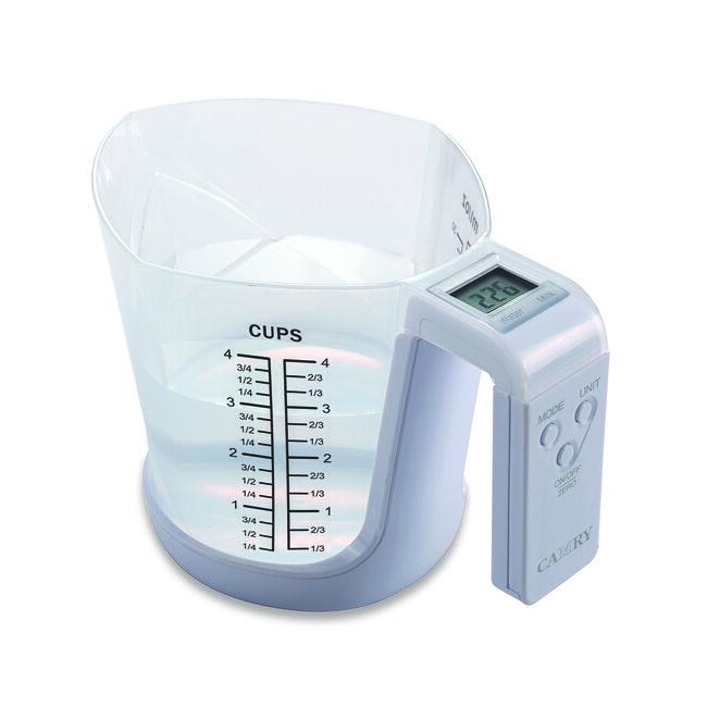 Camry White Electronic Measuring Jug
