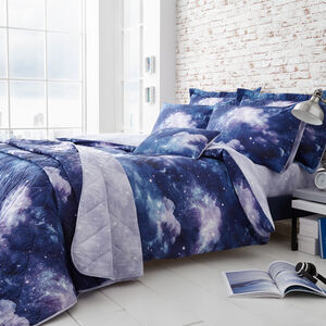 DOUBLE DUVET COVER Benji Blue