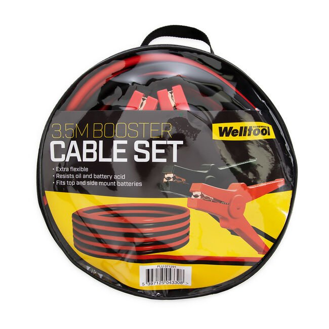 Booster Cable Set 3.5m