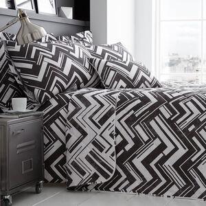 Richie Black/White Bedspread 200cm x 220cm