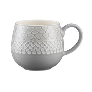 Mason Cash Impressions Grey Mug