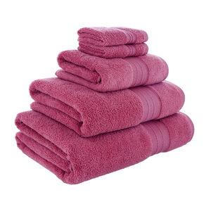 450GSM ZERO TWIST RASPBERRY 30*30 Face Towel 2pk