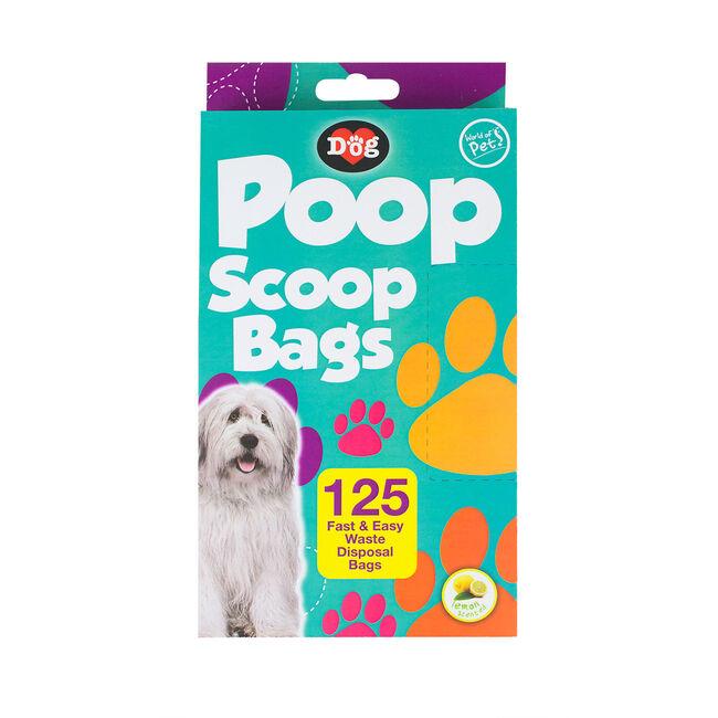 Pat's Poop Scoop Bags 125pk