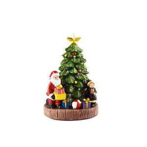 Lightup Christmas Tree with Santa