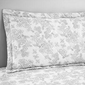 Millie Grey Pillowshams 50 cm x 75 cm