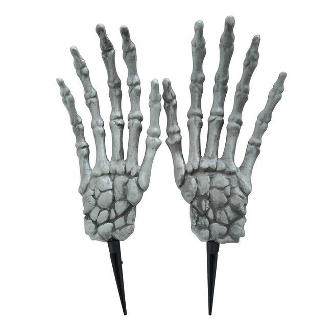 Halloween Giant Skeleton Hand Ground Stake