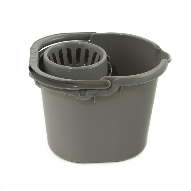 Mop Bucket Silver 16L