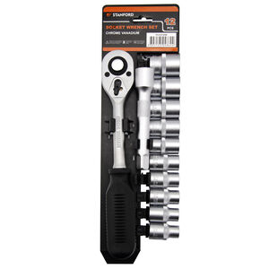 12 Piece Socket Set