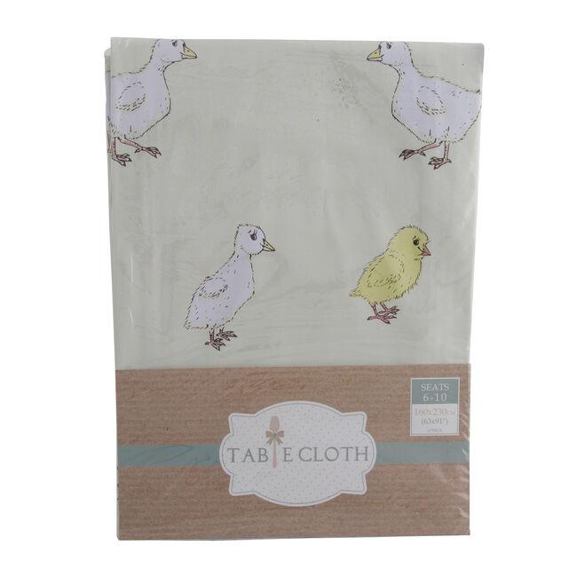 Farm Animals Natural Table Cloth 160cm x 230cm
