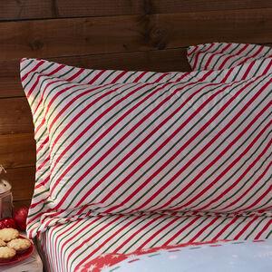 Santa Map 50x75 Pillowshams