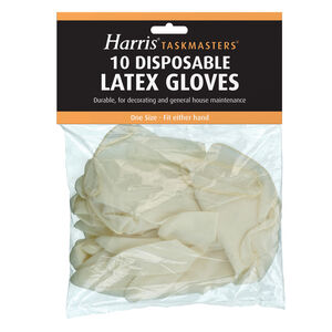 Harris Taskmaster Latex Gloves 10 Pack