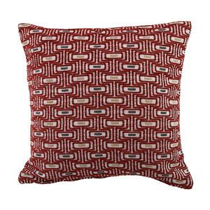 Laura-Jane Red Cushion 58cm x 58cm