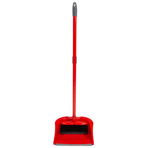Wham Klean Long Handle Dustpan and Brush Set