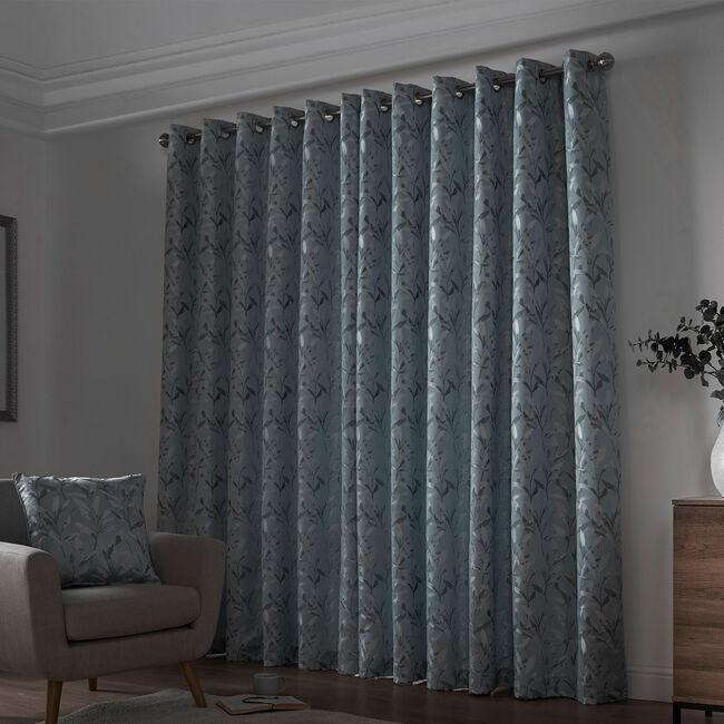 BOTANIKA INTERLINED DUCK EGG 66x54 Curtain