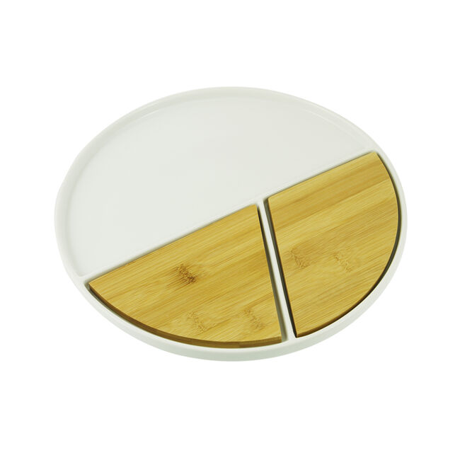 Atelier 75 Round Plate with Board