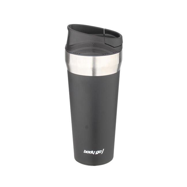 BodyGo Black 380ml Travel Mug With Suction Bottom
