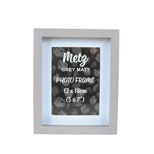 Metz Grey Matt Photo Frame 5x7""