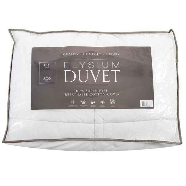 Elysium Microfibre Duvet Single
