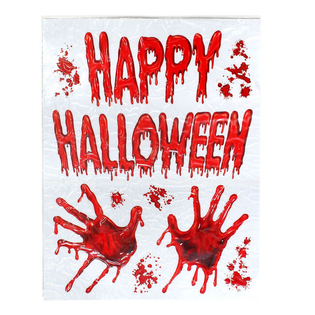 Halloween Bloody Wall Sticker