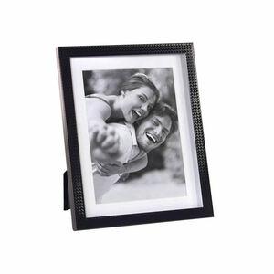 Herringbone Gun Metal Photo Frame