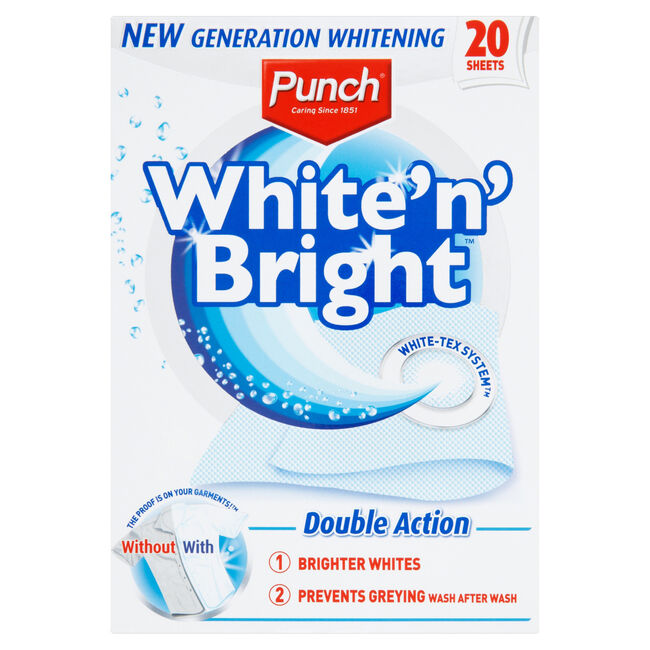 Punch White 'n' Bright 20pk
