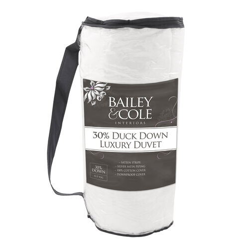 BAILEY & COLE LUXURY Down Single Duvet