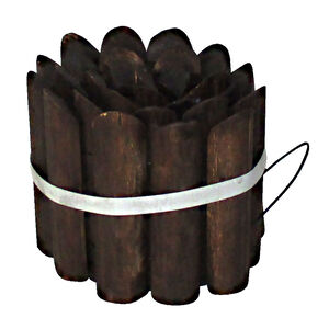 Burntwood Log Edging Roll