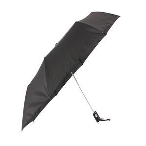 Susino Semi-Auto Compact Black Umbrella