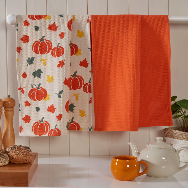 Harvest 2PK Waffle Tea Towels