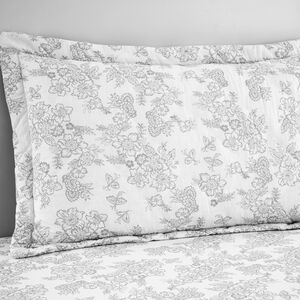 Millie Grey Oxford Pillowcase Pair