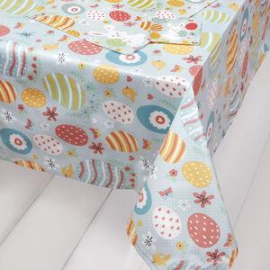 Decorative Eggs PVC Table Cloth 160x230cm