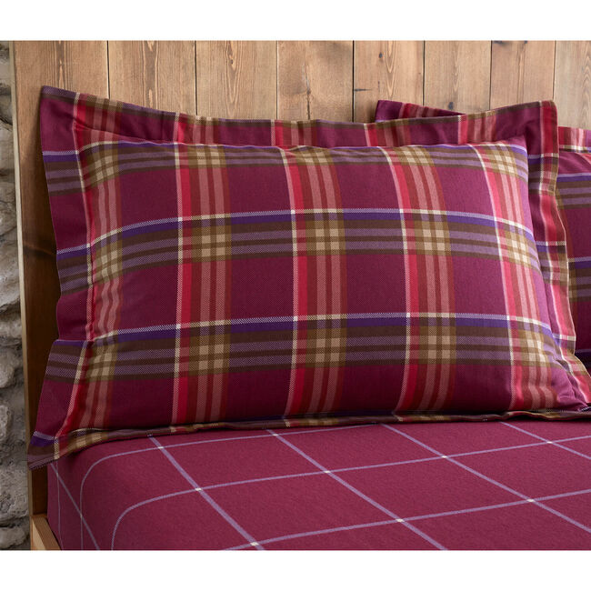 Brushed Cotton Ni Ghallachoir Oxford Pillowcases