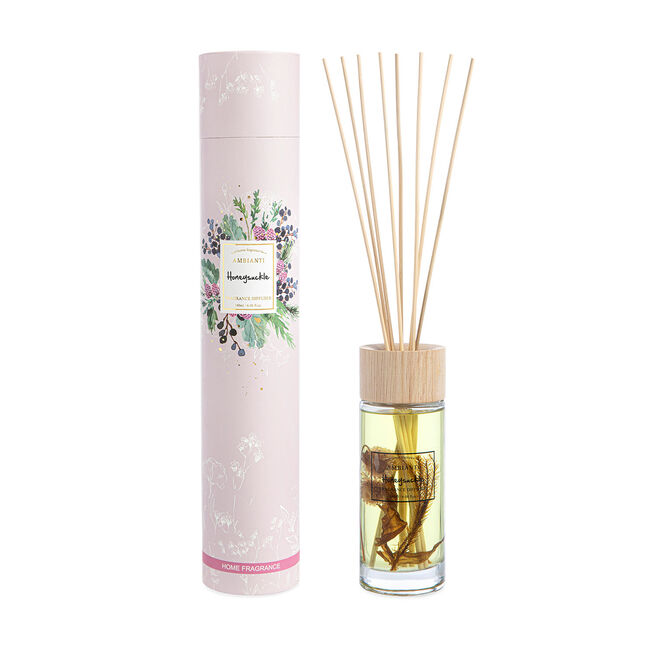 Ambianti Florals Honeysuckle Reed Diffuser