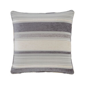 Conor Geo Stripe Grey Cushion 45cm x 45cm