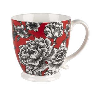 Kensington Butterfly Garden White Mug