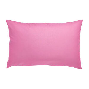 Percale Hot Pink Housewife Pillowcases