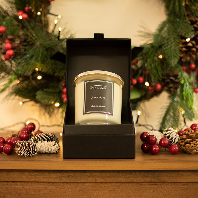 Cashel Living Pure Bliss Scented Candle