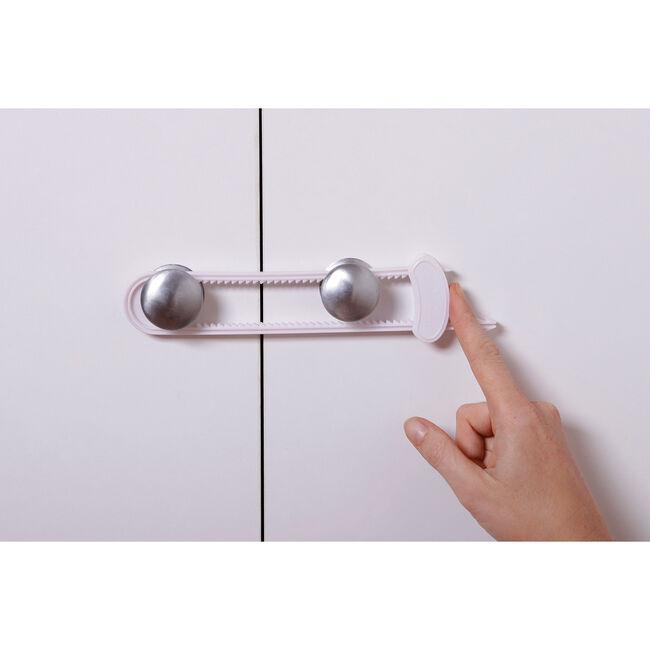 Sliding Cabinet Locks with Clip