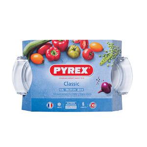 Pyrex 4.4 + 1.4L (5.8L) Oval Casserole Dish