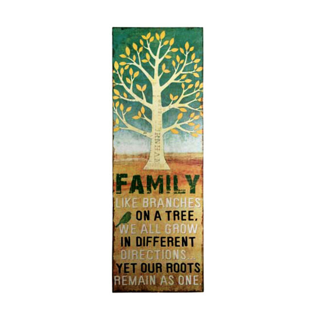 Family Like Branches on A Tree Print