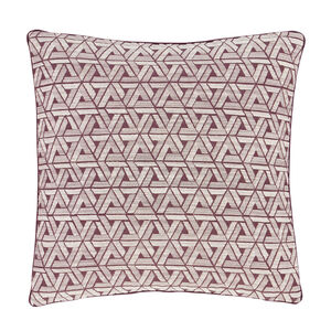 Triangles Purple Cushion 45cm x 45cm
