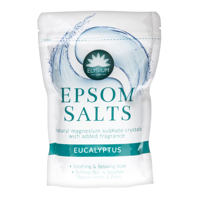 Elysium Spa Epsom Salts Eucalyptus 1kg