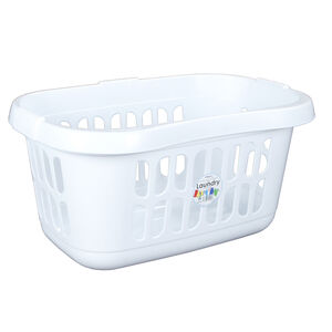 Casa Hipster Laundry Basket Ice White