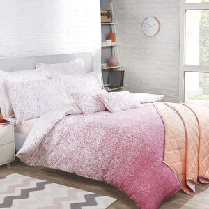 Ombre Splash Duvet Cover