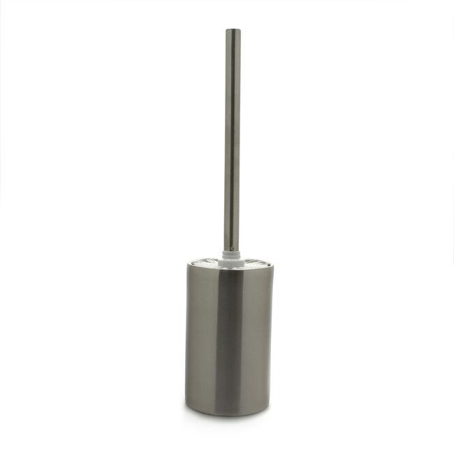 Toilet Brush & Holder Polished Steel