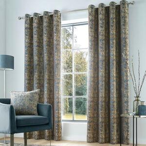 SAOIRSE TEAL 66X54 Curtain