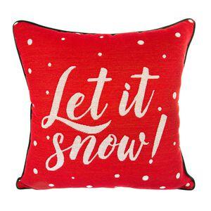 Let It Snow Cushion Covers 2Pk 45cm x 45cm