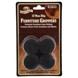 Nonslip Furniture Grippers 12 Pack