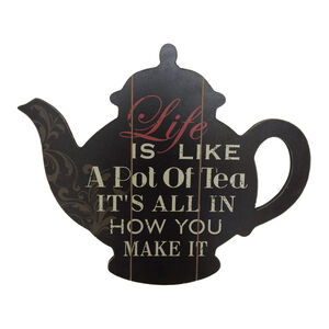 Life is Like a Pot of Tea Wall Art